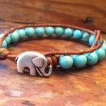  Elephant Leather Wrap Bra..